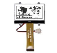 2.6 inch SPI Serial Graphic LCD 128x64,NT7538 Controller,Black on White ERC12864FSF-2